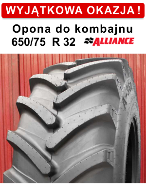 Opona do kombajnu 650/75R32
